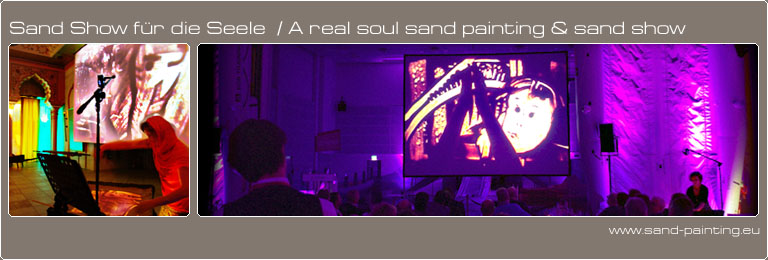 Sand-painting-show